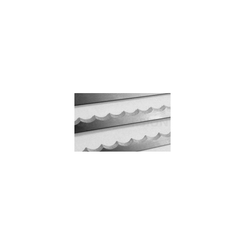 Messenset voor Broodsnijmachine: Daub lang (50 Messen/set)